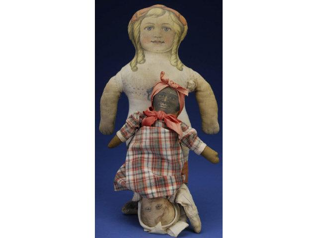 Topsy Turvy  Doll & Printed Cloth Doll America,
