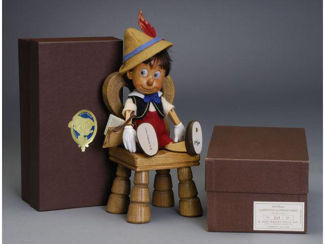R. John Wright Pinocchio & His Wooden Chair
