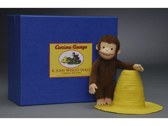 R. John Wright Curious George & The Yellow