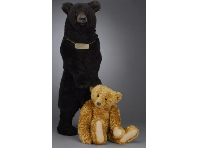 Lot: Two Large Contemporary Artist Bears