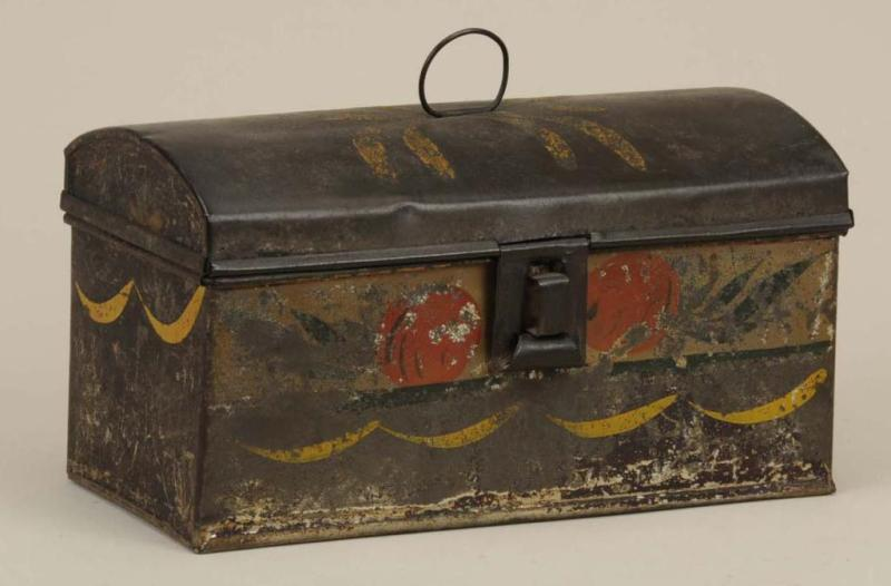 Pennsylvania Tole Decorated Document Box.