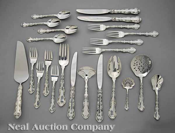 A Group of Gorham Sterling Silver Flatware,