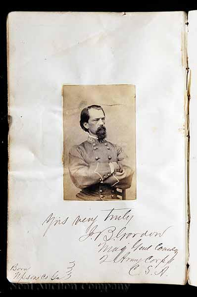An Important Album of Confederate General