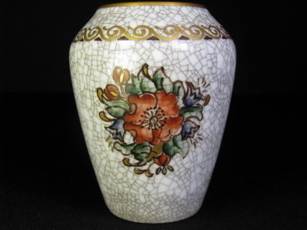 Small Copenhagen porcelain vase with hallmark