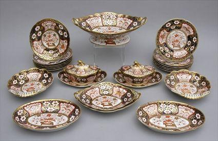 ENGLISH PORCELAIN TEA SERVICE In the Japan