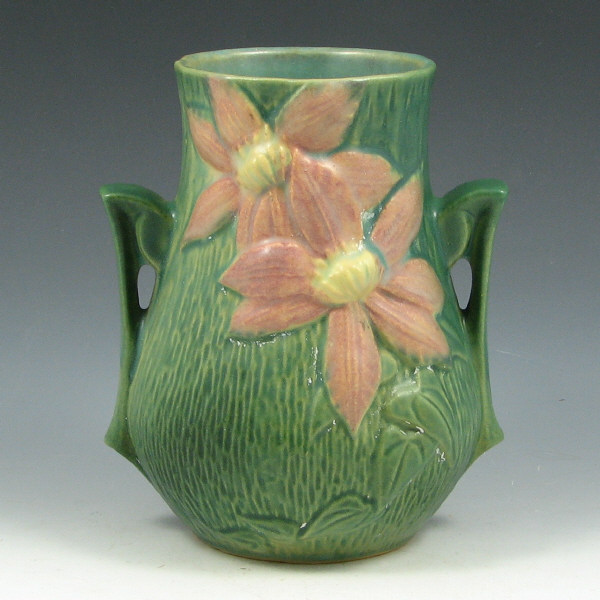 Price Guide For Roseville Clematis 103 6 Vase Roseville