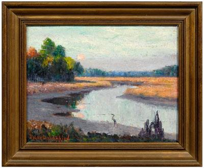 Walter Thompson Savannah painting (Walter