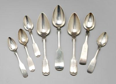 Price Guide For Southern Coin Silver Spoons Four Pieces