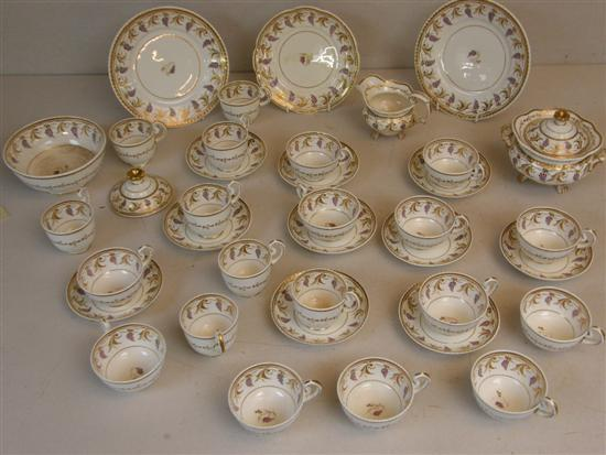 Early 19th century English porcelain part