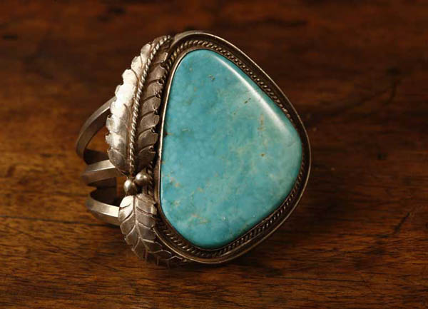 Native American Navajo sterling & turquoise