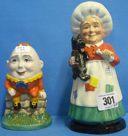 Royal Doulton Figures Humpty Dumpty And Old