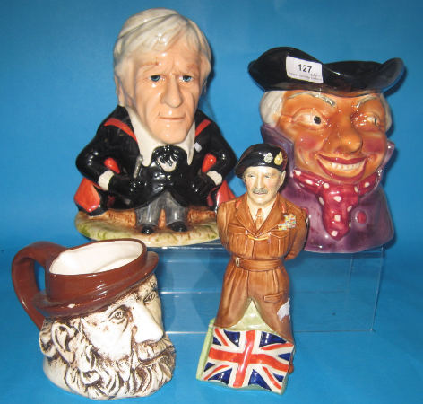 Bovey Pottery Co 1970s Toby Jug of Doctor