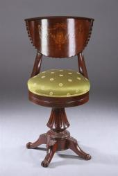 Swell Price Guide For An Antique Piano Stool On Ball And Claw Feet Ibusinesslaw Wood Chair Design Ideas Ibusinesslaworg