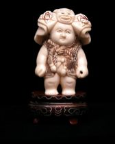 692. Another Wonderful Ivory Carving, ca.