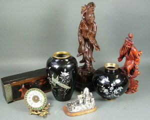 Miscellaneous items including two oriental