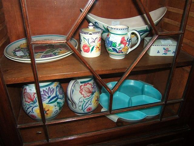 A collection of Poole Pottery consisting