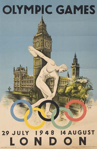 WALTER HERZ (1909- ) OLYMPIC GAMES / LONDON.
