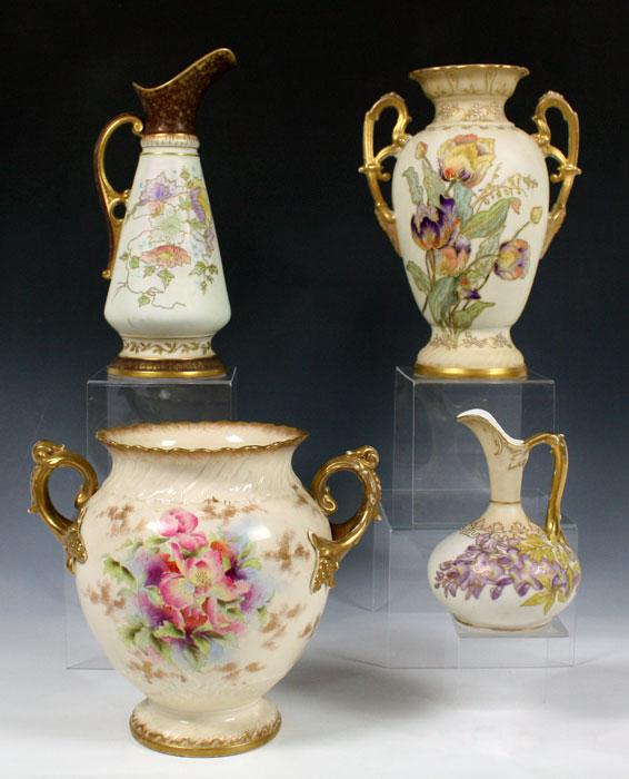 Price guide for 4 PIECE HAND PAINTED ROYAL WORCESTER TYPE