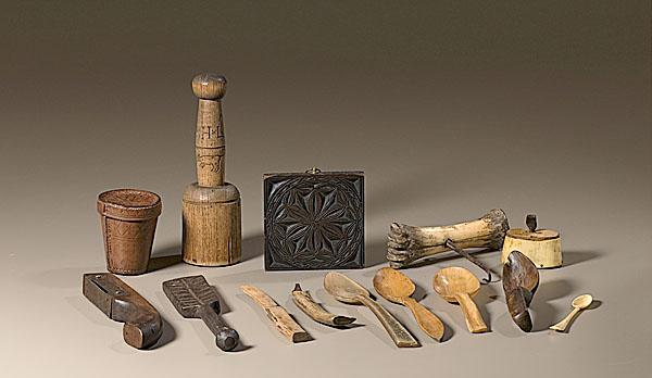 SMALL UTILITARIAN OBJECTS AND TOOLS, American
