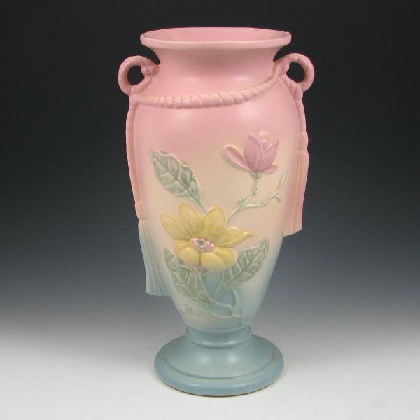 Price Guide For Hull Magnolia Matte 21 12 12 Tassel Vase Magnolia