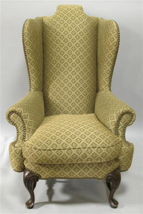 Price Guide For Drexel Heritage Lockwood Wing Chair 20th
