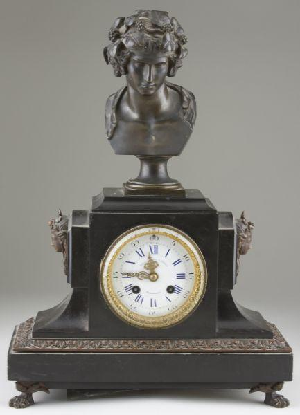 Price Guide For Bailey Banks Biddle Mantel Clock Late 19th