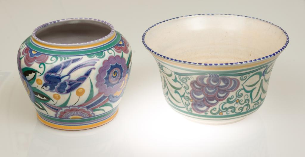 CARTER STABLER & ADAMS POOLE POTTERY BOWL,
