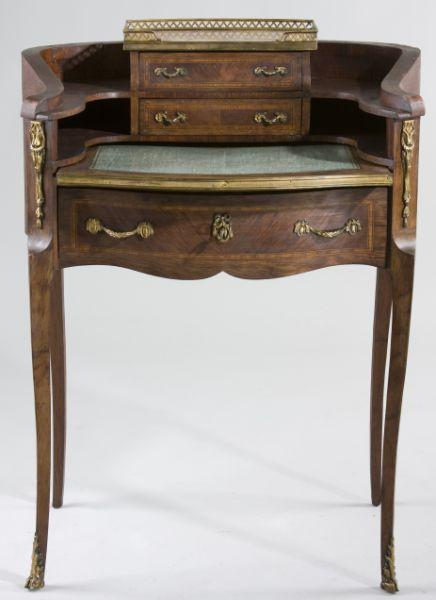 Louis XV Style French Lady's Writing Desk,
