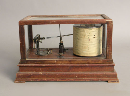Taylor Instrument Company drum type barometer,