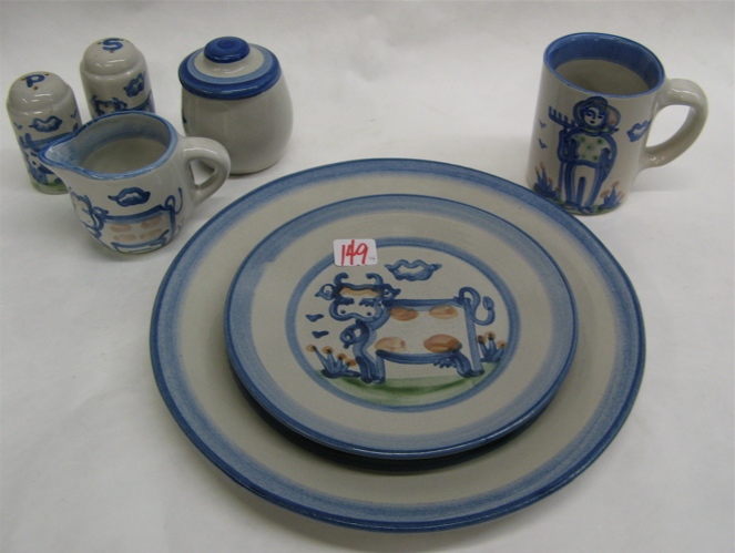 M.A. HADLEY POTTERY DINNERWARE AND ACCESSORIES,