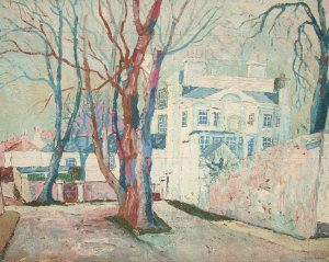 George Hann 1900-1979- The Admiral's House;