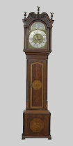 432. English Grandfather Clock by Jeremiah