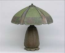 559. Signed Handel Table Lamp