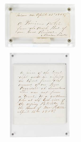 [LINCOLN ASSASSINATION.]