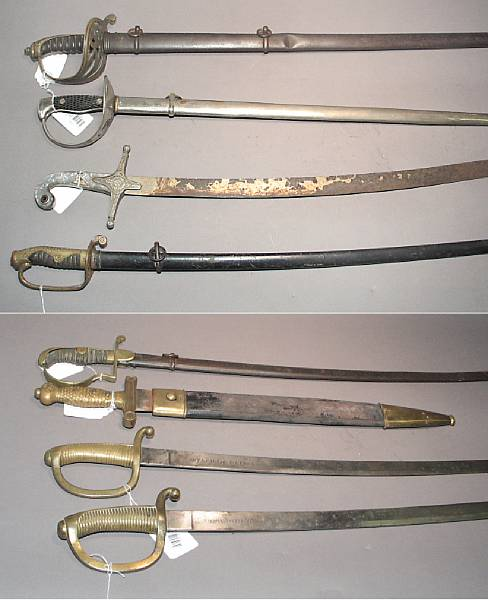 A lot of eight swords