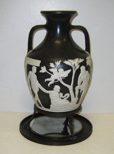Price Guide For Wedgwood Portland Vase And Stand Copy After