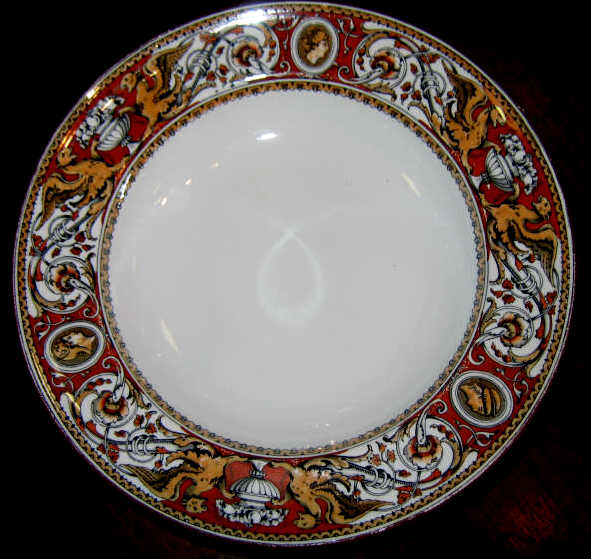 "ANTIQUE MINTON POTTERY DINNERWARE ""Florentine"""