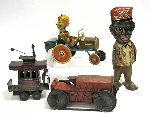 Early Clockwork Comical Toys