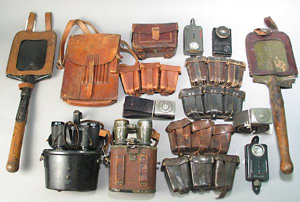 A lot of 20th century German militaria