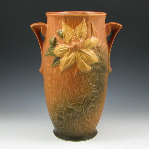 Price Guide For Roseville Clematis 112 12 Vase Roseville