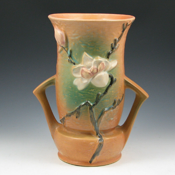 Price Guide For Roseville Magnolia 95 10 Vase Roseville