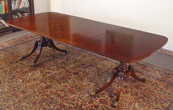 Price Guide For Kittinger Mahogany Dining Table Model A710