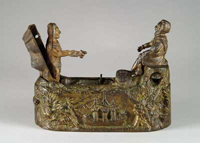 LANDING OF COLUMBUS MECHANICAL BANK. Gold