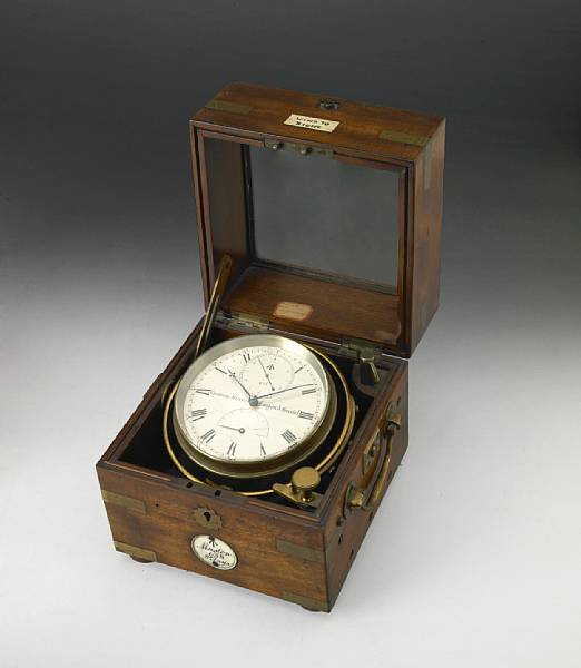 A Victorian eight day marine chronometer