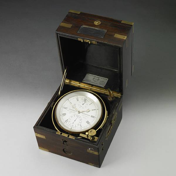 A Victorian two day marine chronometer
