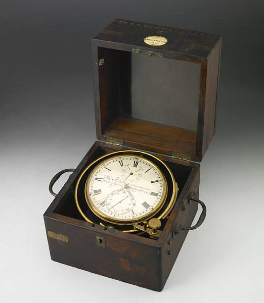 A Victorian seven day marine chronometer