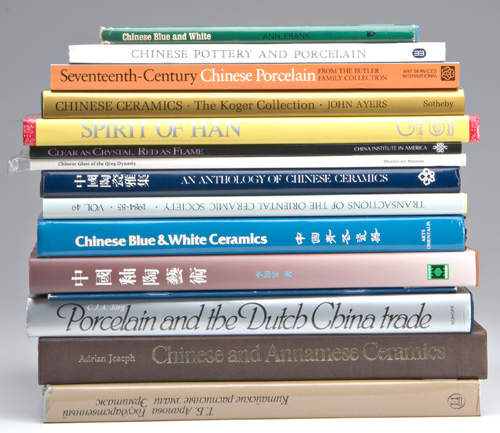 CHINESE CERAMIC ART BOOKS Chinese Porcelains