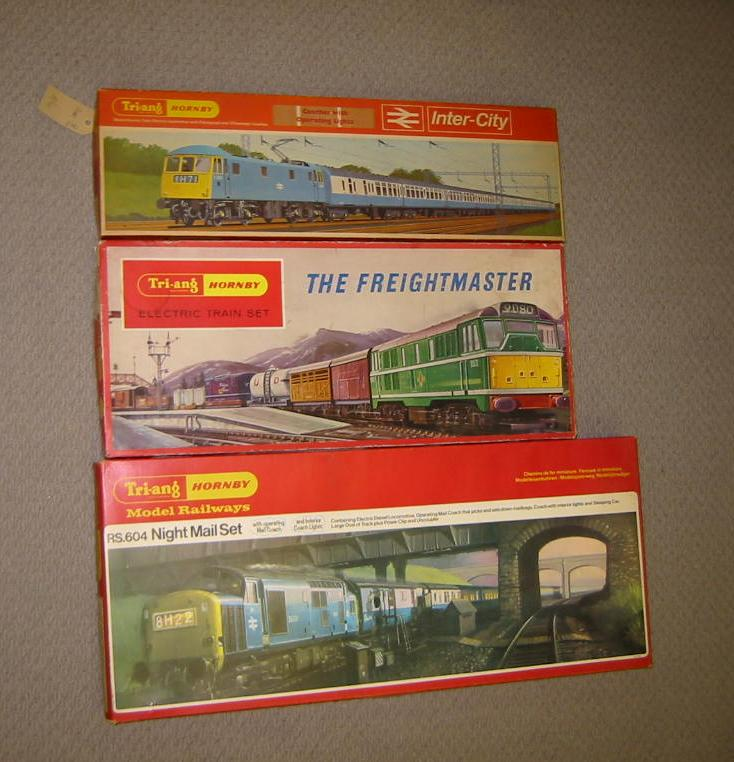 Price guide for Three Triang Hornby train sets, Intercity
