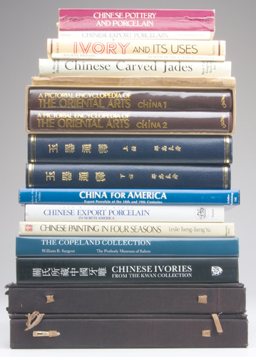 CHINESE ART BOOKS Chinese Export Porcelain