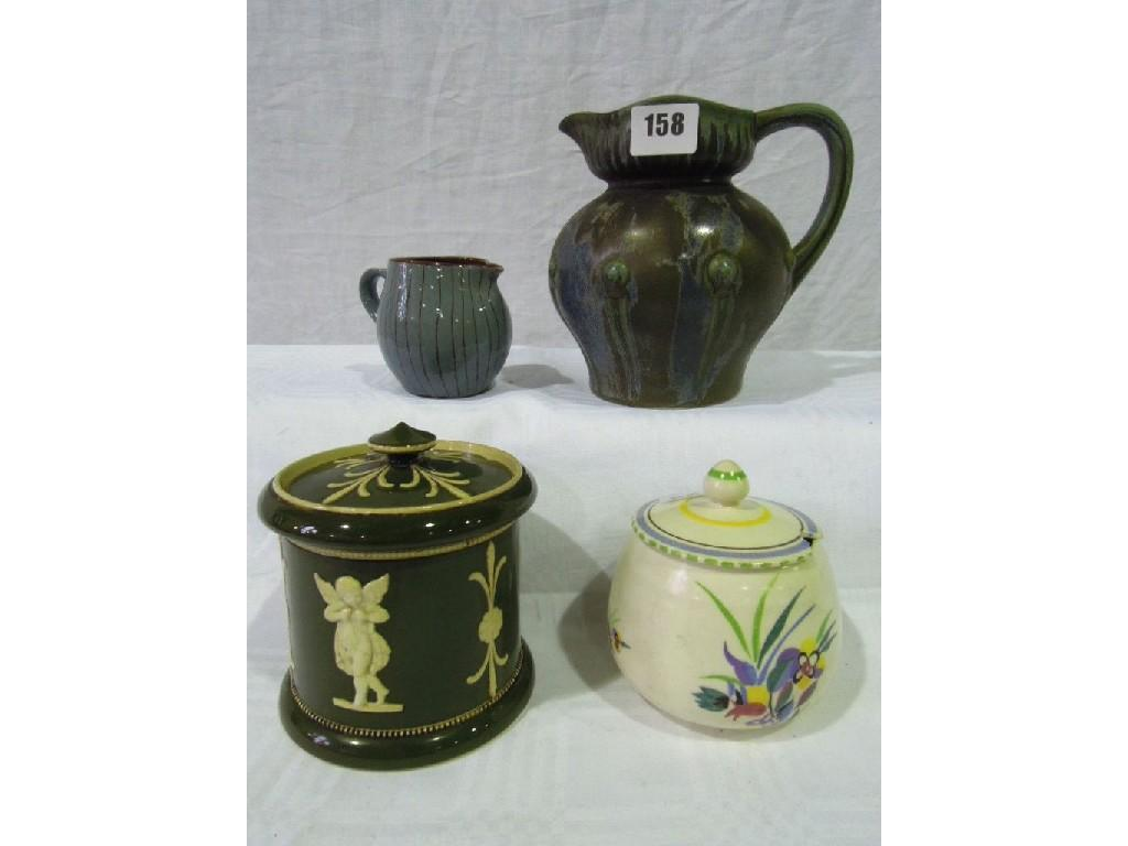 A collection of mixed ceramics including
